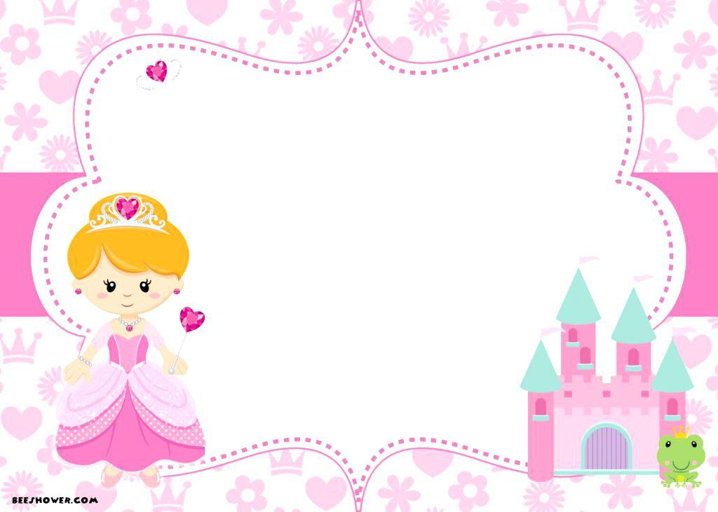 Free Disney Princess Party Invitation Templates