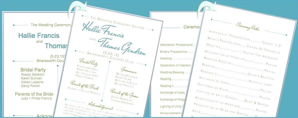 Free Diy Wedding Fan Programs Templates