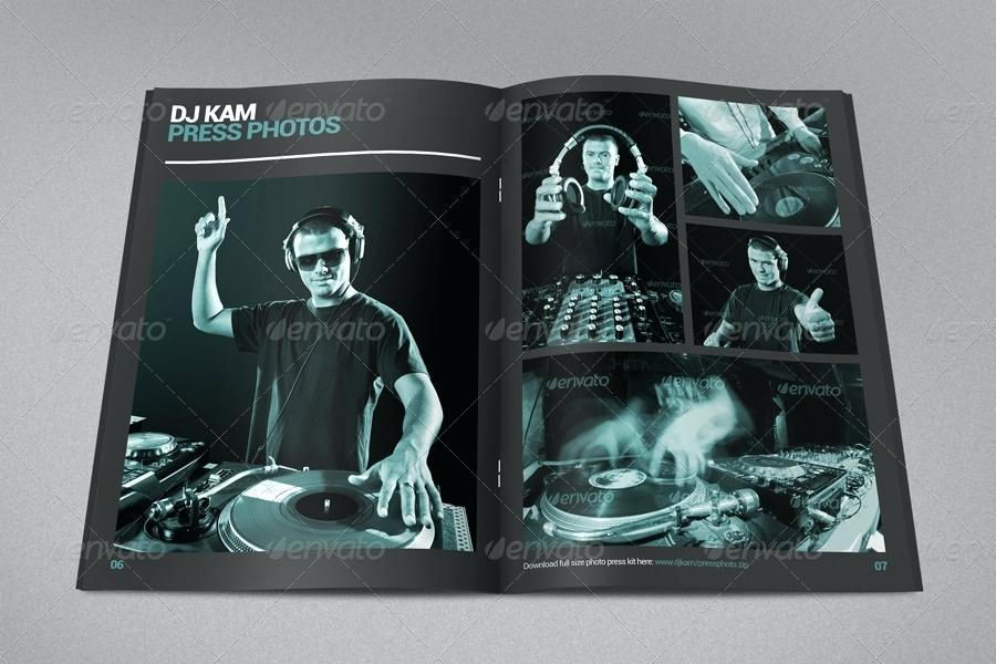 Free Dj Press Kit Template