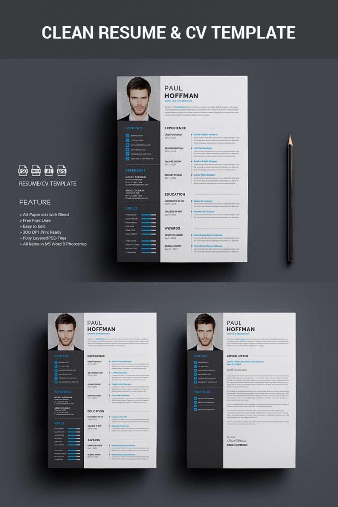 Free Download Creative Resume Templates Microsoft Word