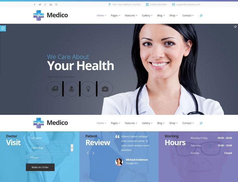 Free Download Css Templates For Hospital Management System