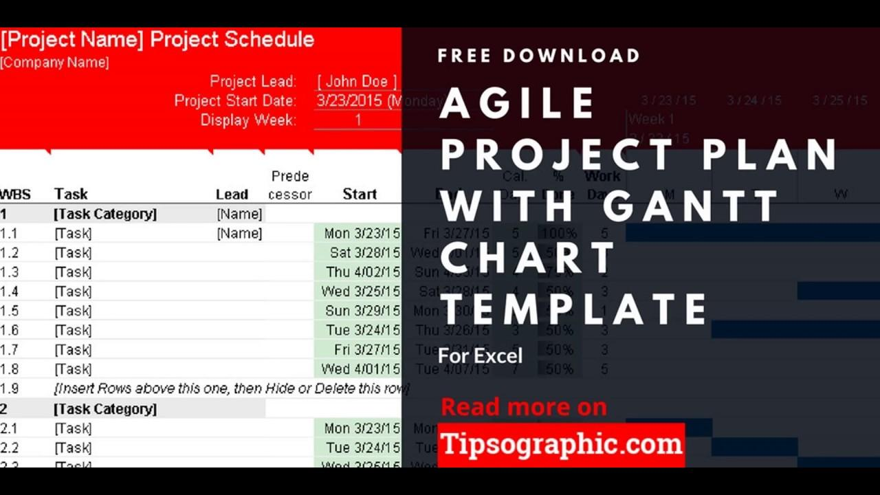 Free Download Gantt Chart Template For Excel