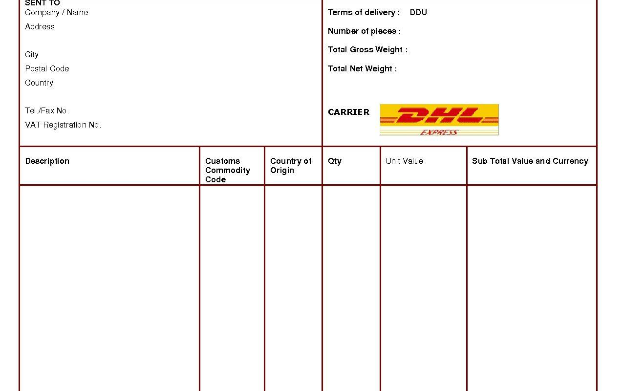 Free Download Gst Invoice Template In Excel
