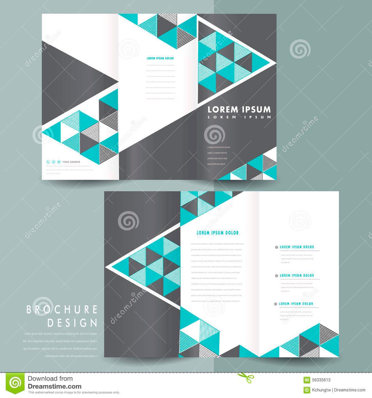 Free Download Tri Fold Brochure Templates Psd