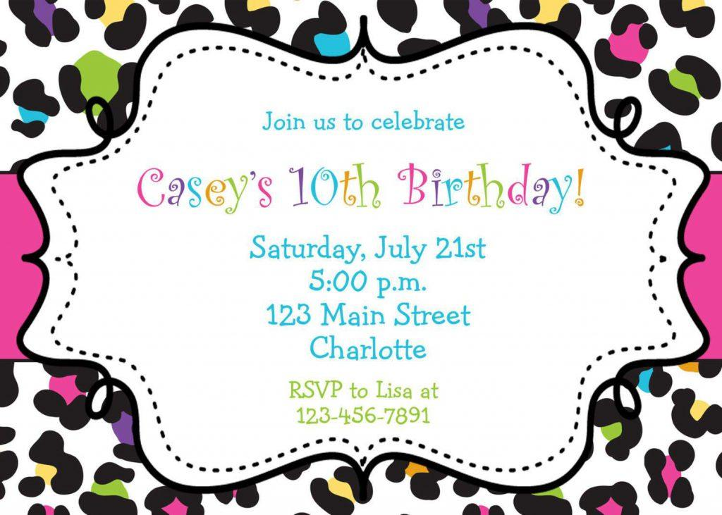 Free Downloadable 21st Birthday Invitations Templates