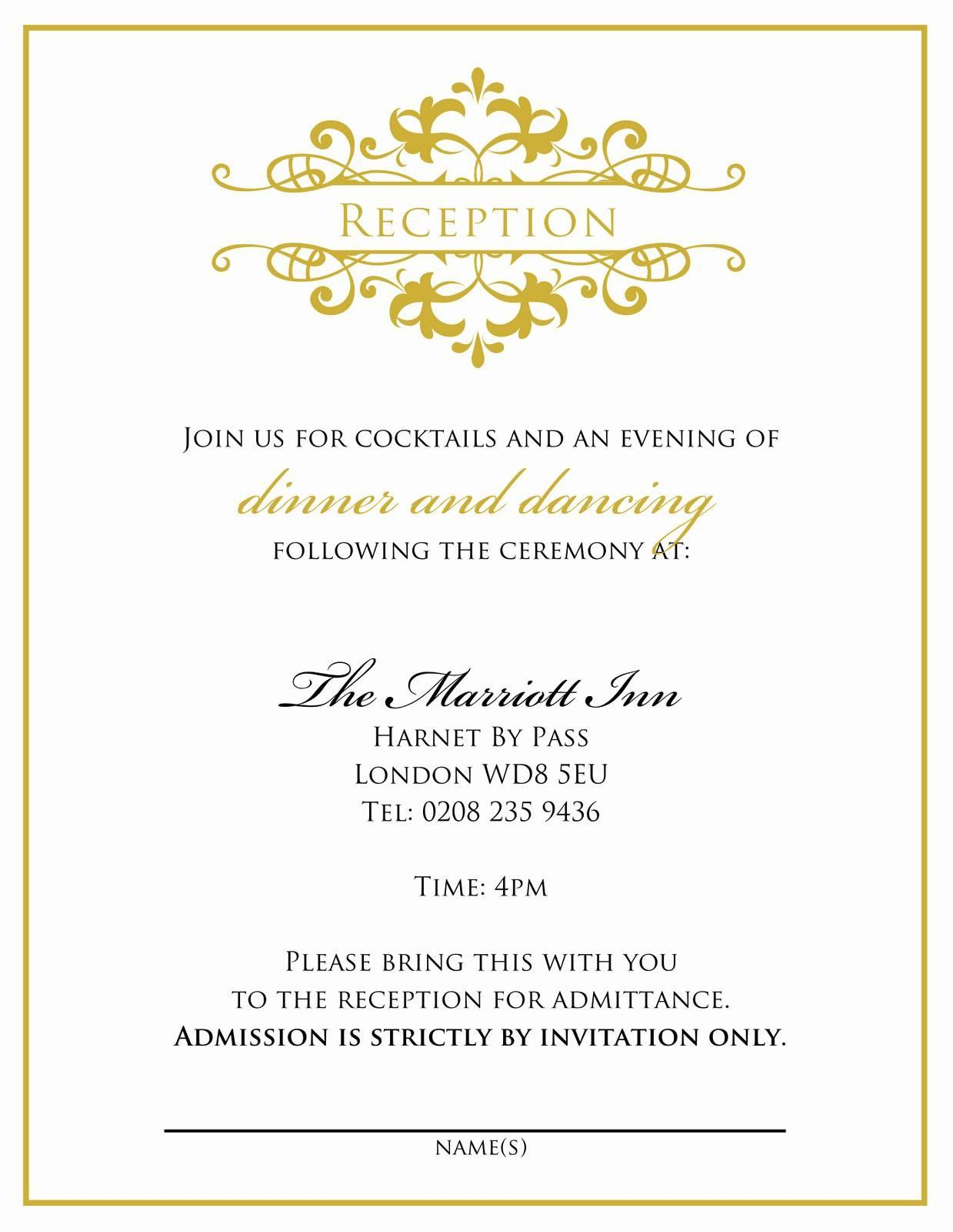 Free Downloadable Dinner Invitation Templates