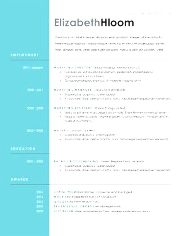 Free Downloadable Resume Templates 2017