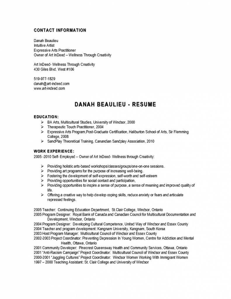 Free Downloadable Resume Templates For Highschool Students