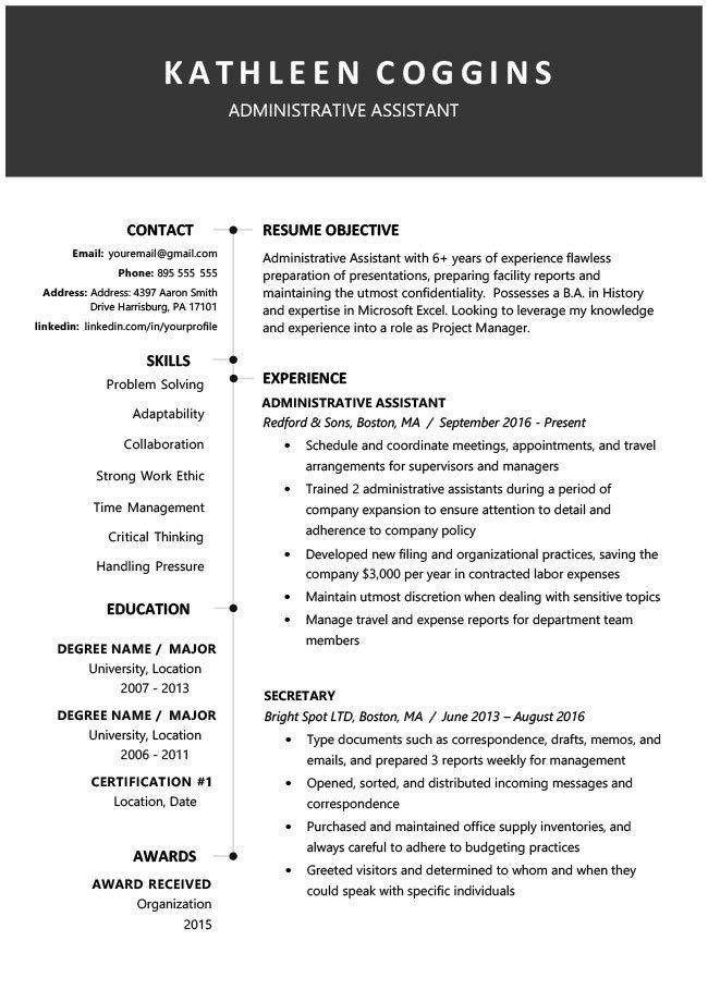 Free Downloadable Resume Templates Pdf
