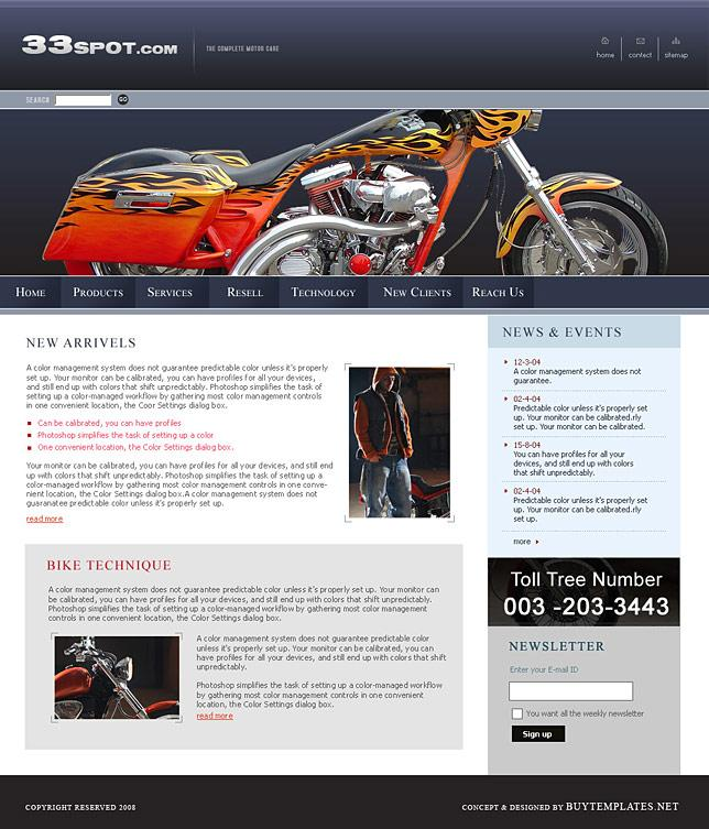 Free Dreamweaver Css Website Templates Download