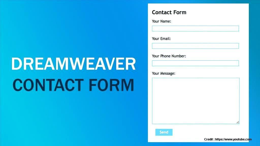 Free Dreamweaver Form Templates