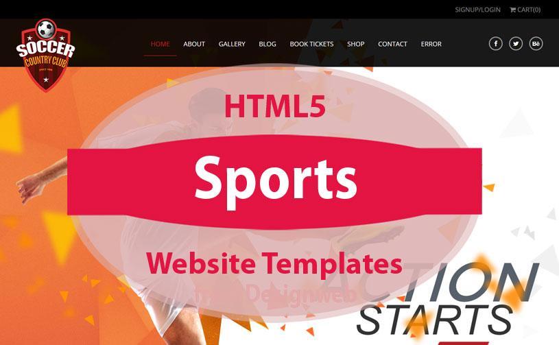Free Dreamweaver News Website Templates