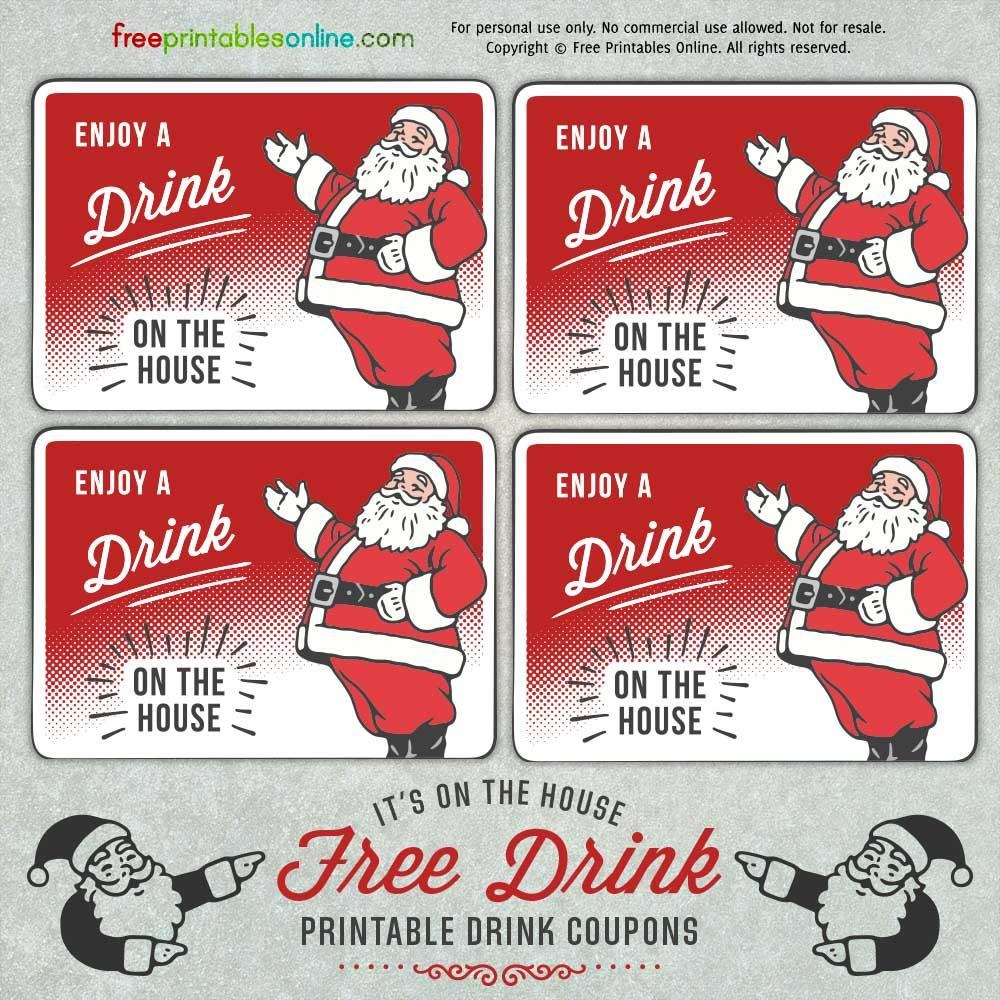 Free Drink Ticket Template