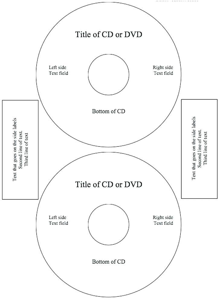 Free Dvd Label Templates