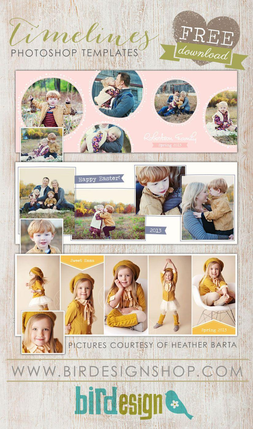 Free Easter Photoshop Templates For Photographers