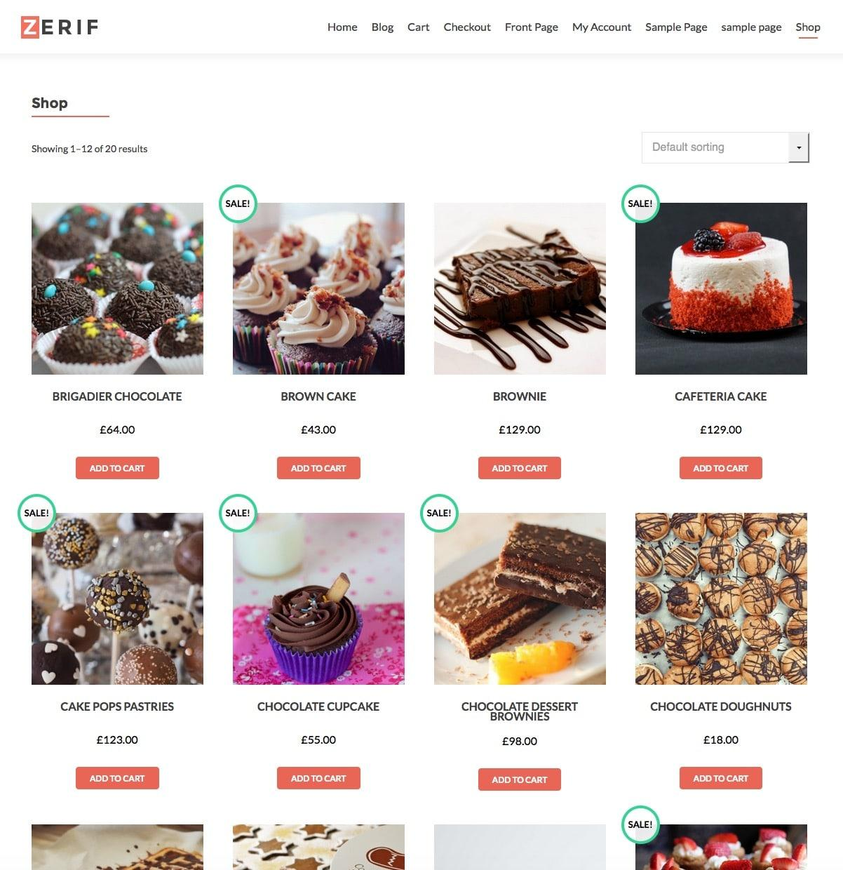 Free Ecommerce WordPress Themes Woocommerce