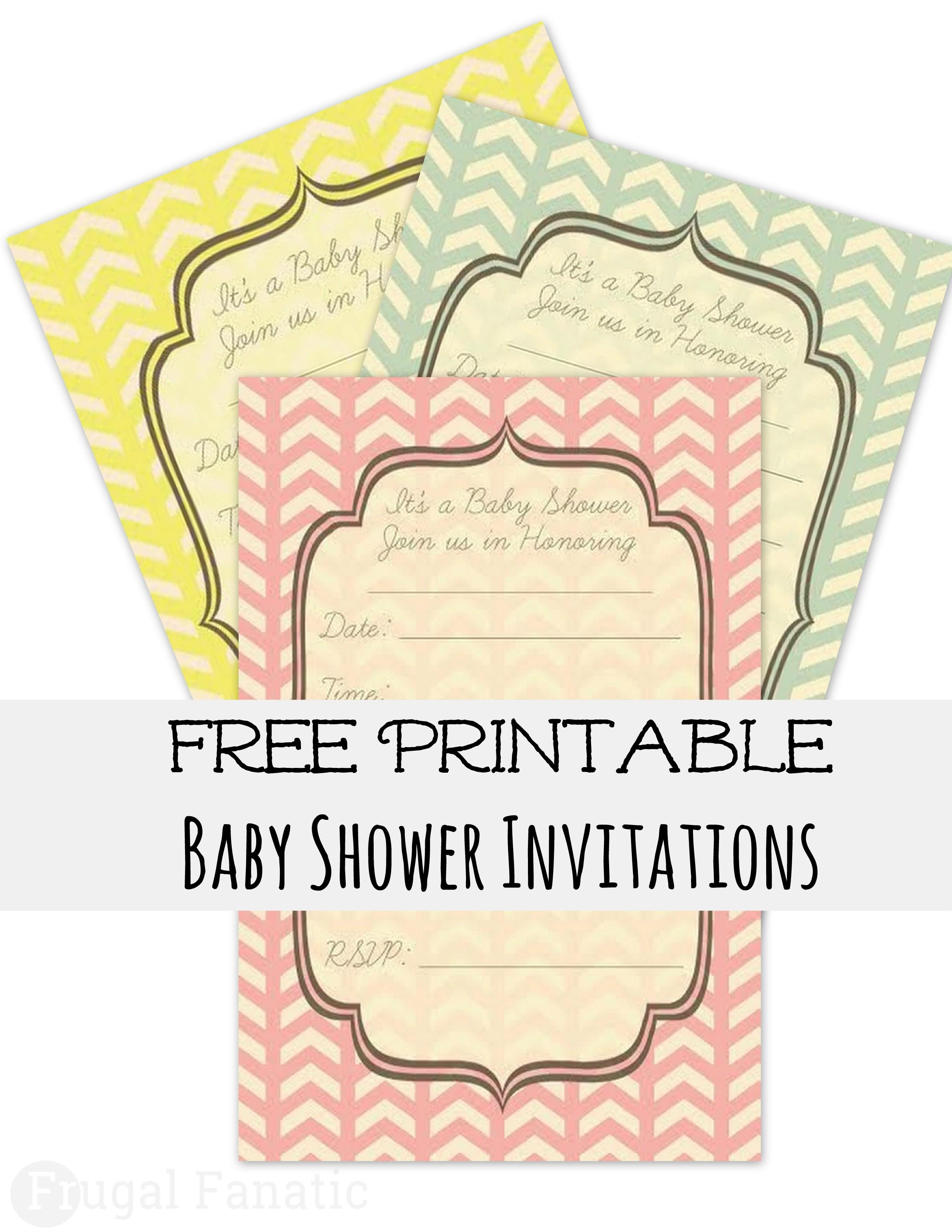 Free Editable Baby Girl Shower Invitation Templates