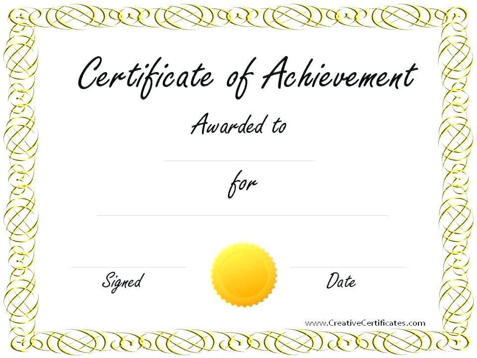 Free Editable Certificate Of Appreciation Template