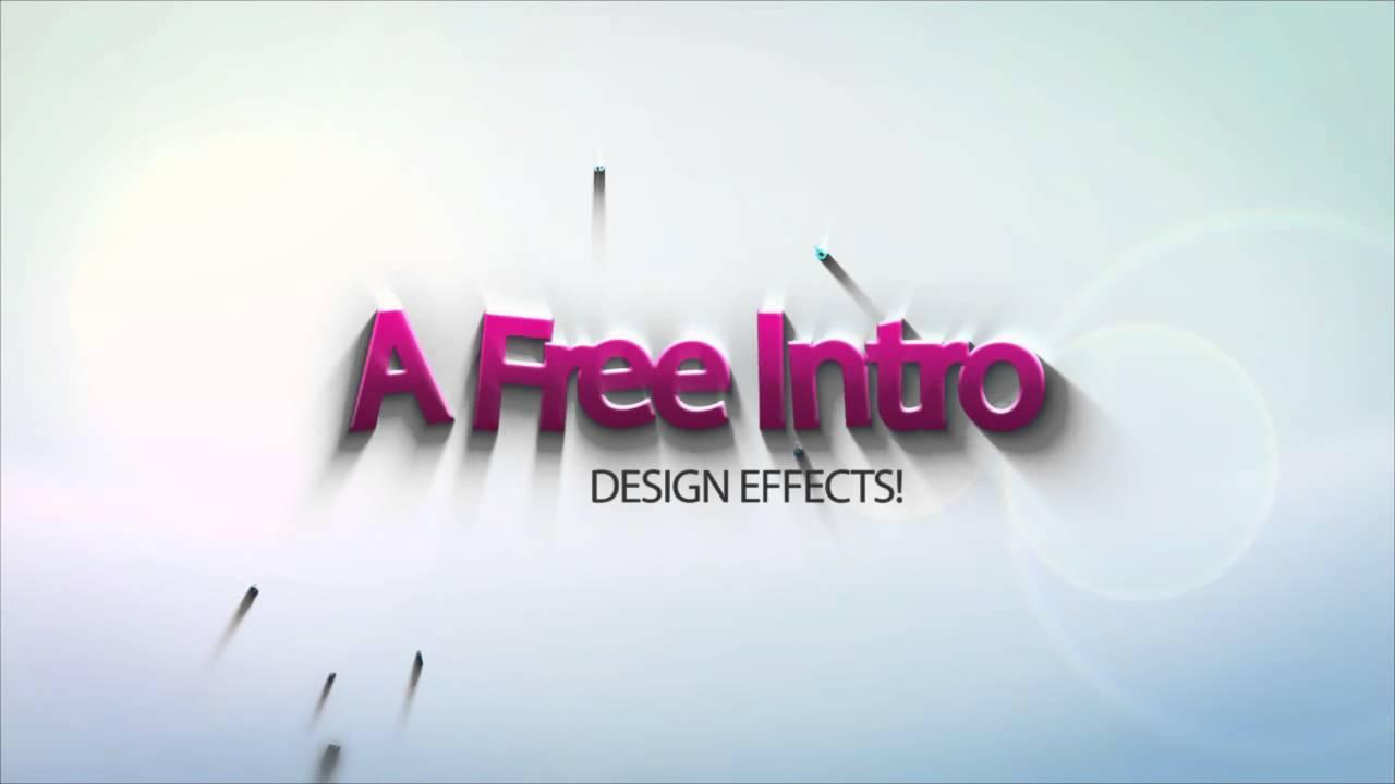 Free Editable Video Intro Templates