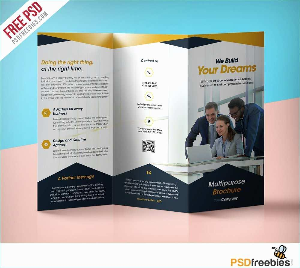 Free Education Brochure Templates Download