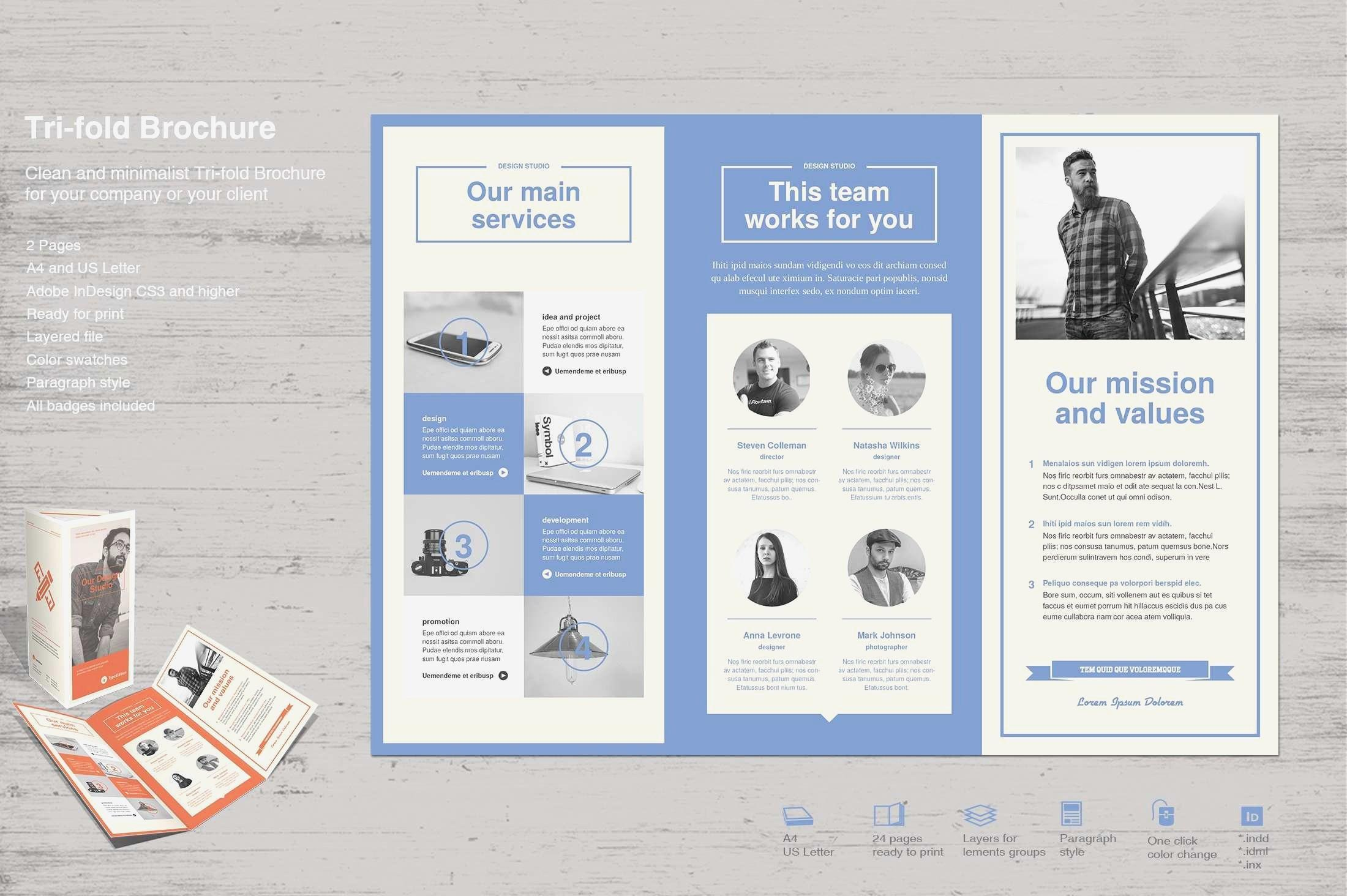 Free Education Brochure Templates For Word