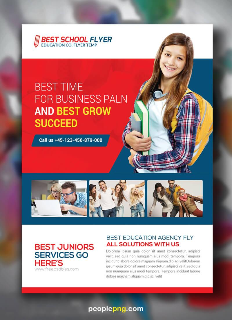 Free Education Flyer Templates Psd