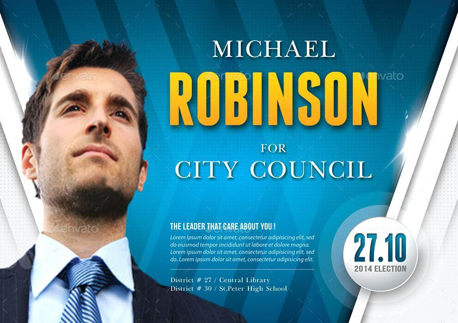 Free Election Campaign Flyer Template