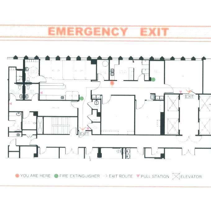 Free Emergency Evacuation Floor Plan Template