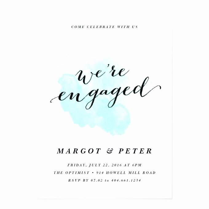 Free Engagement Invitation Templates Printable
