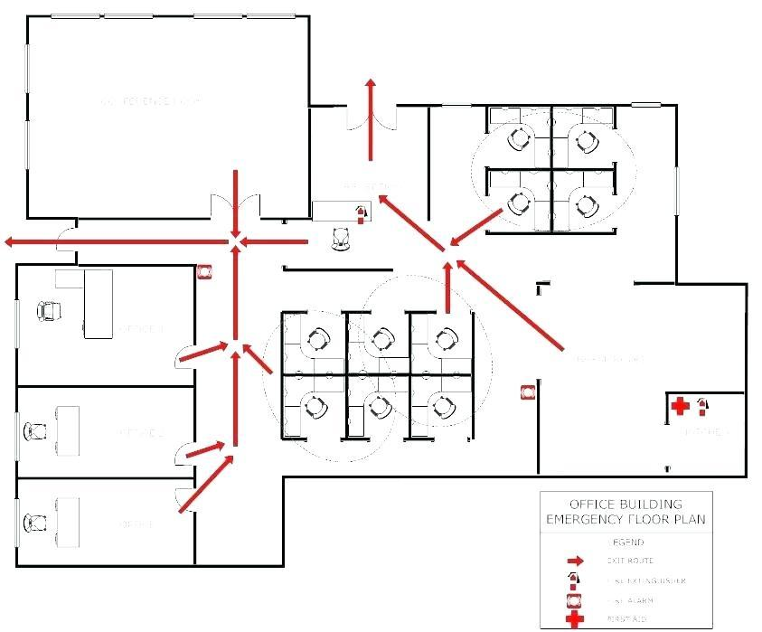 Free Evacuation Plan Template For Office