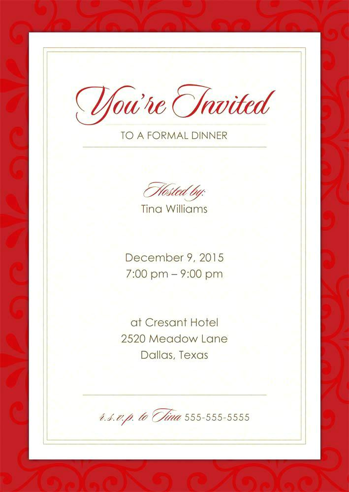 Free Event Invitation Templates For Word