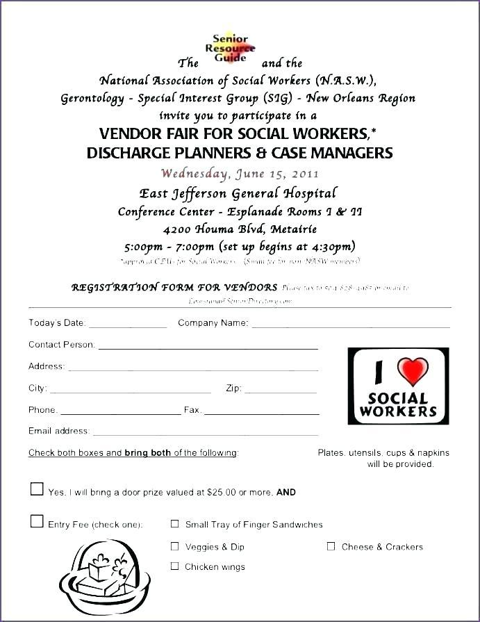 Free Event Sponsorship Form Template