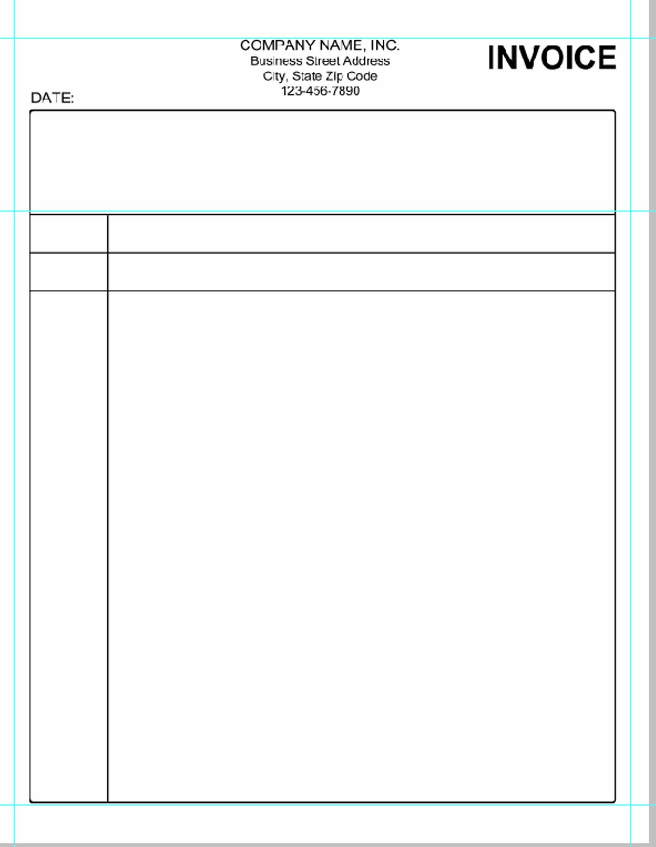 Free Excel Invoice Template Nz