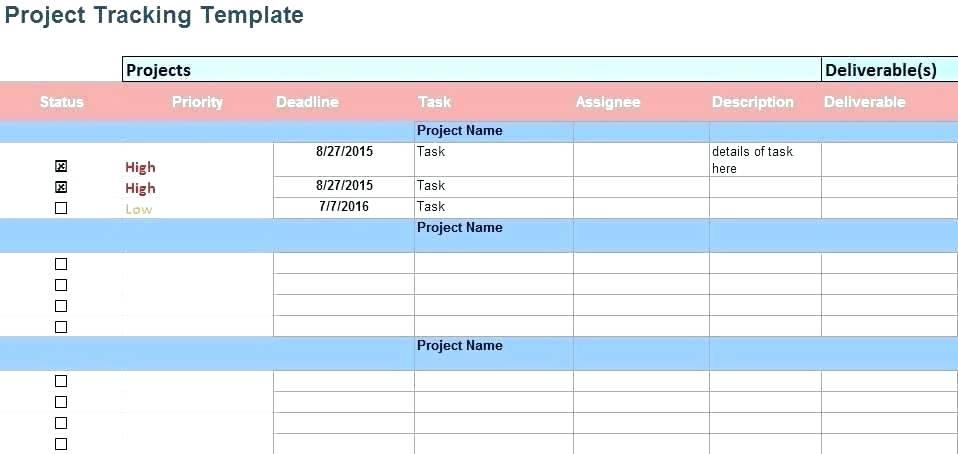 Free Excel Project Cost Tracking Template