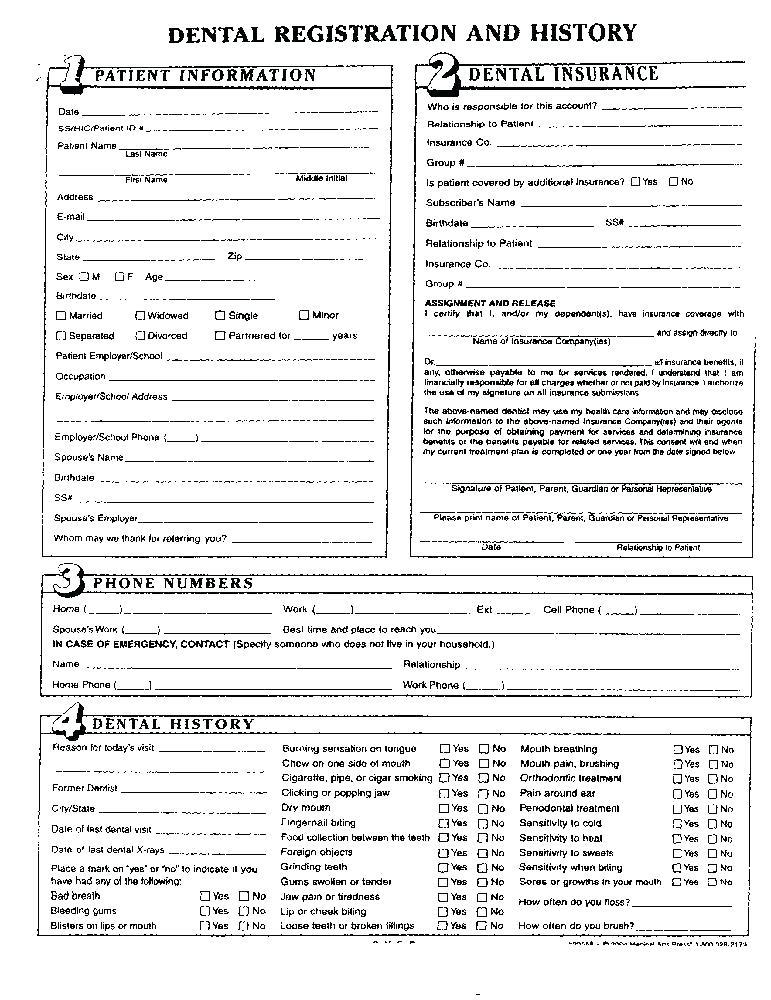 Free Family Medical History Questionnaire Template