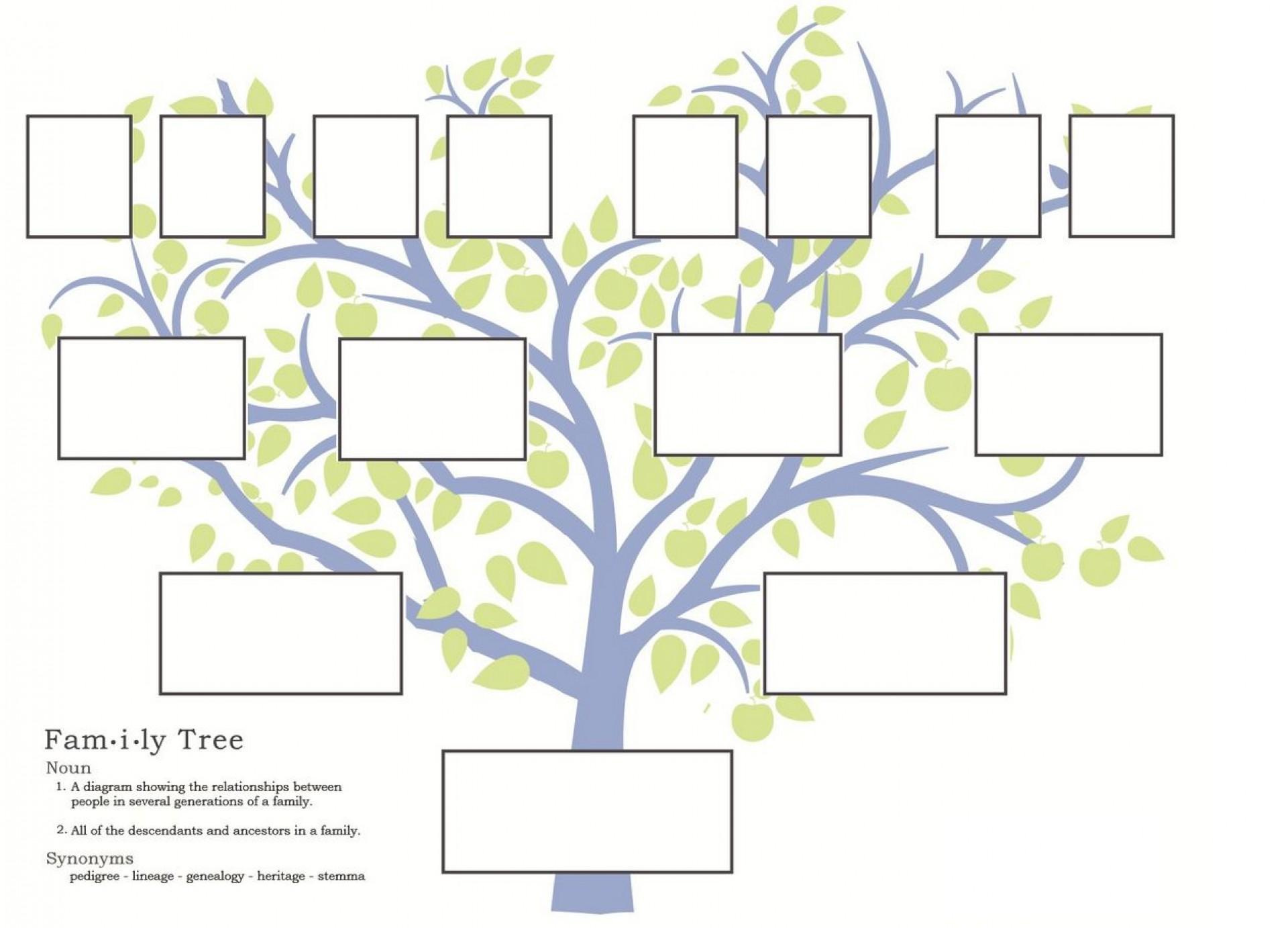 Free Family Tree Template Maker