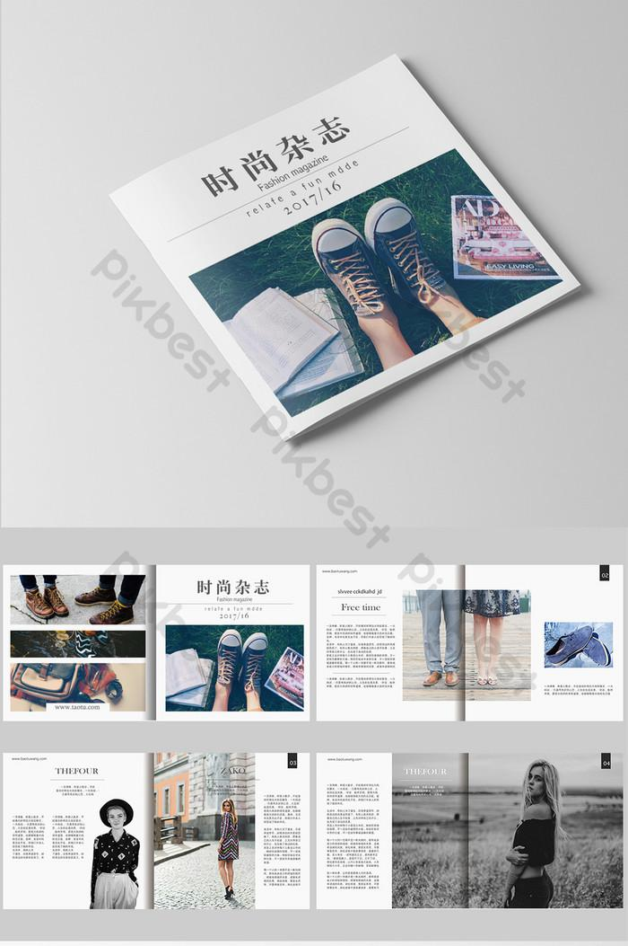 Free Fashion Brochure Template Download