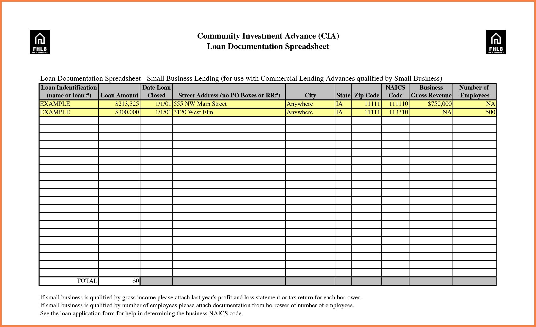 Free Financial Spreadsheet Templates Excel