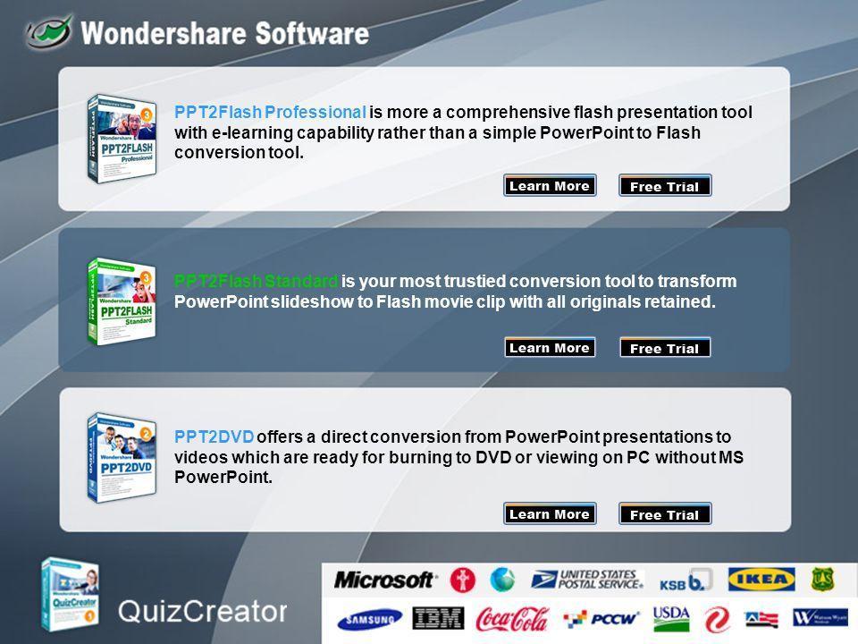 Free Flash Presentation Templates Slideshow