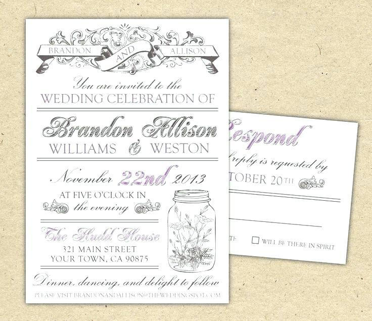 Free Floral Wedding Invitation Templates For Word