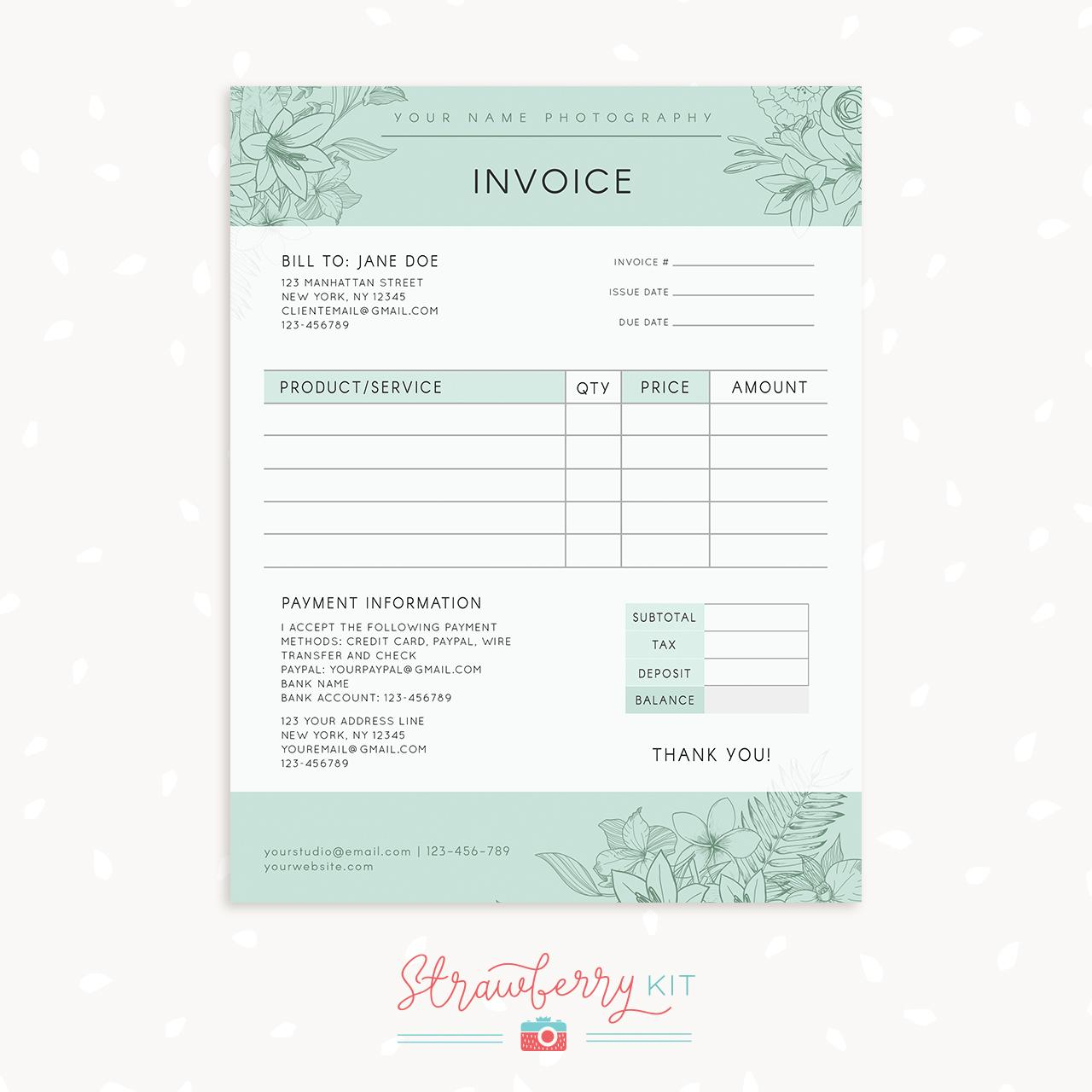 Free Florist Contract Template