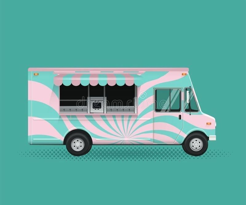 Free Food Truck Wrap Template