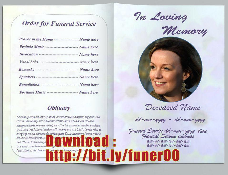 Free Funeral Service Program Samples