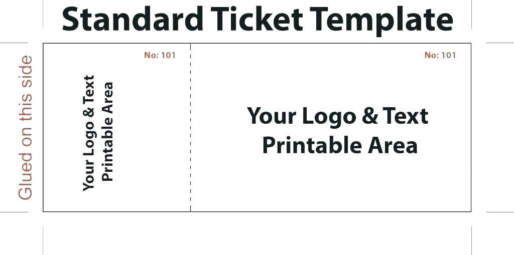 Free Gala Ticket Template