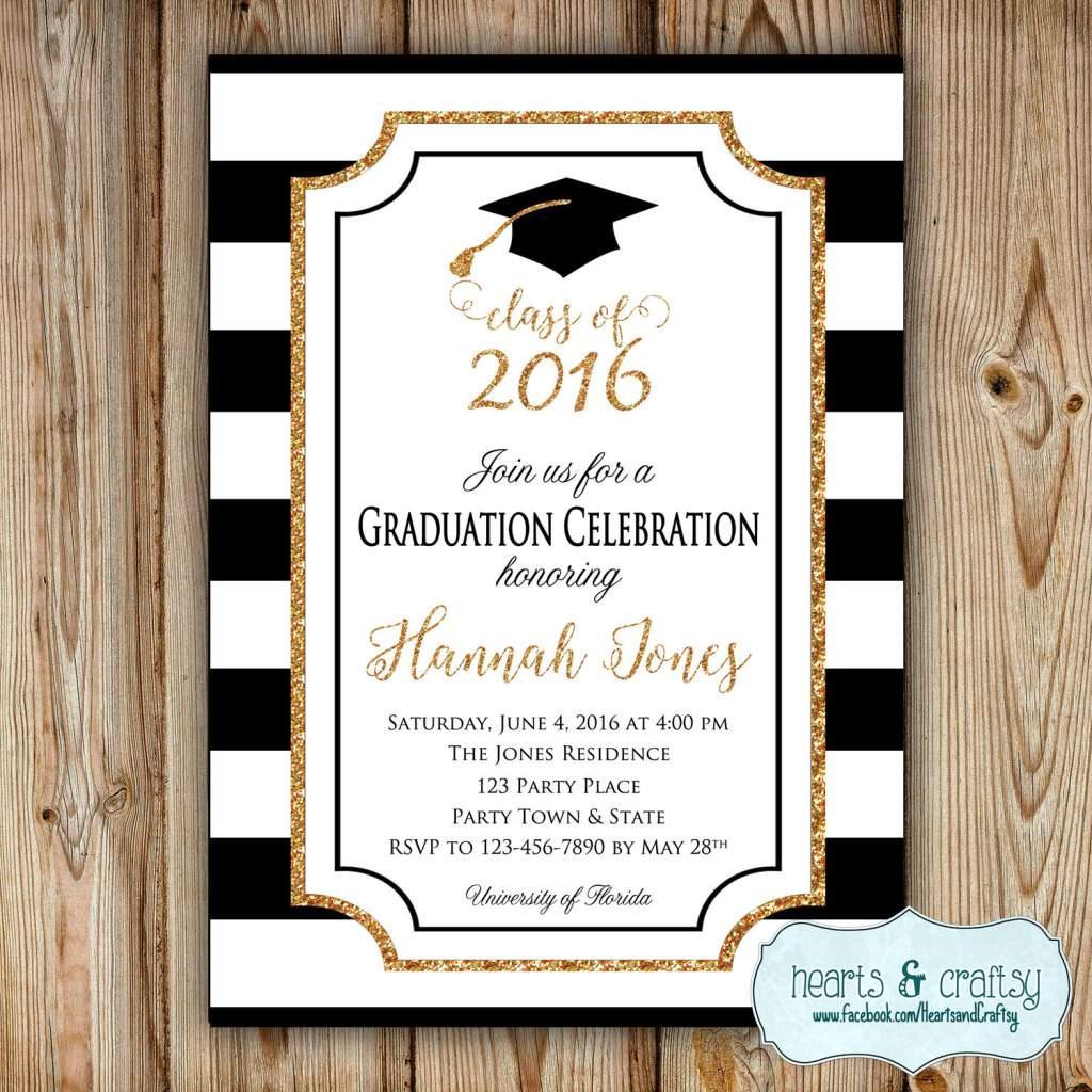 Free Graduation Invitation Templates Microsoft Word