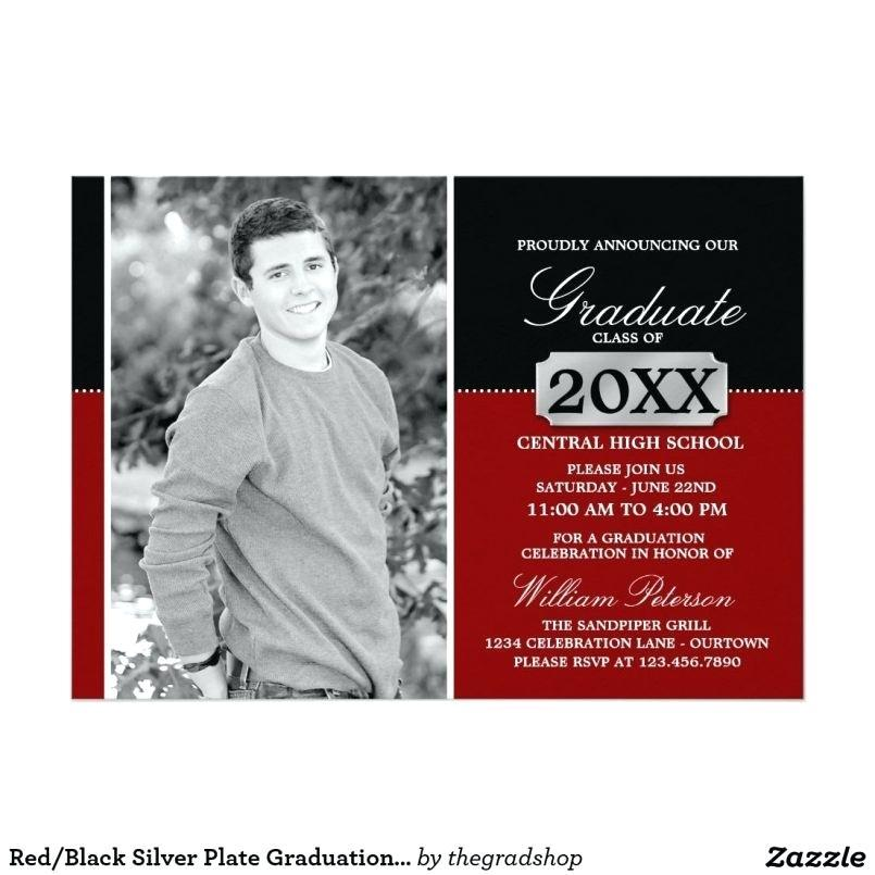 Free Graduation Invitation Templates Photoshop