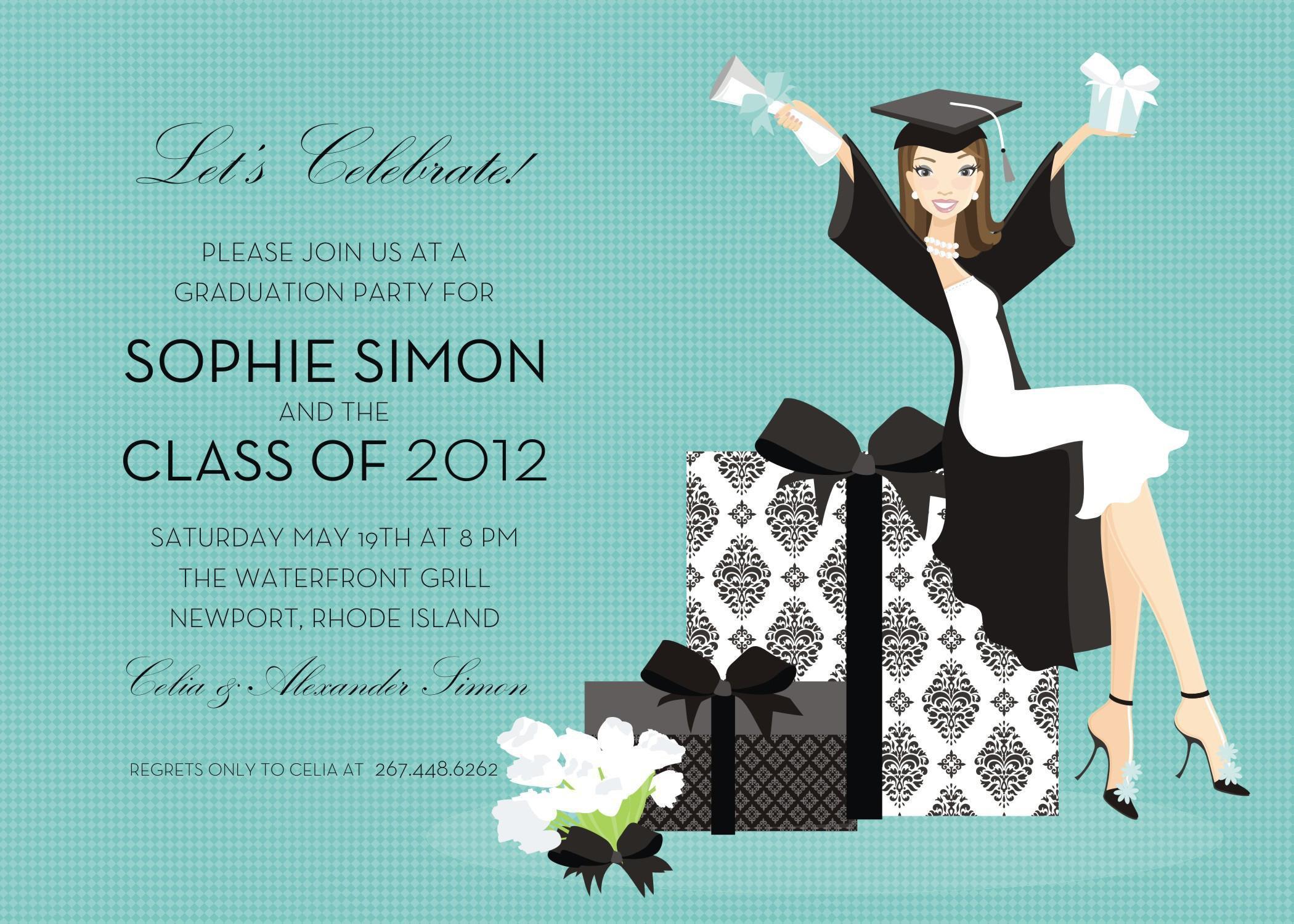 Free Graduation Invitation Templates Psd
