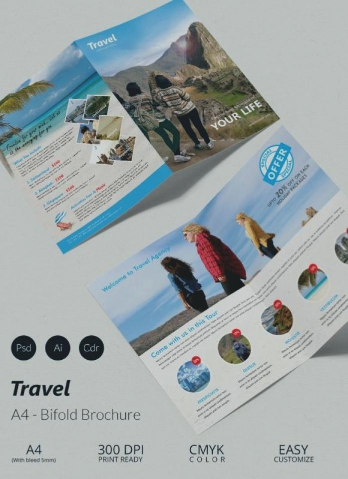 Free Half Fold Brochure Template Publisher