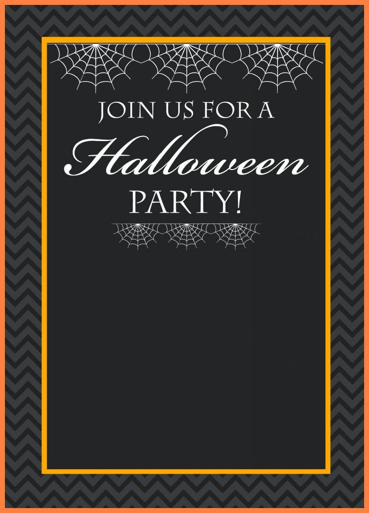 Free Halloween Invitation Templates Online