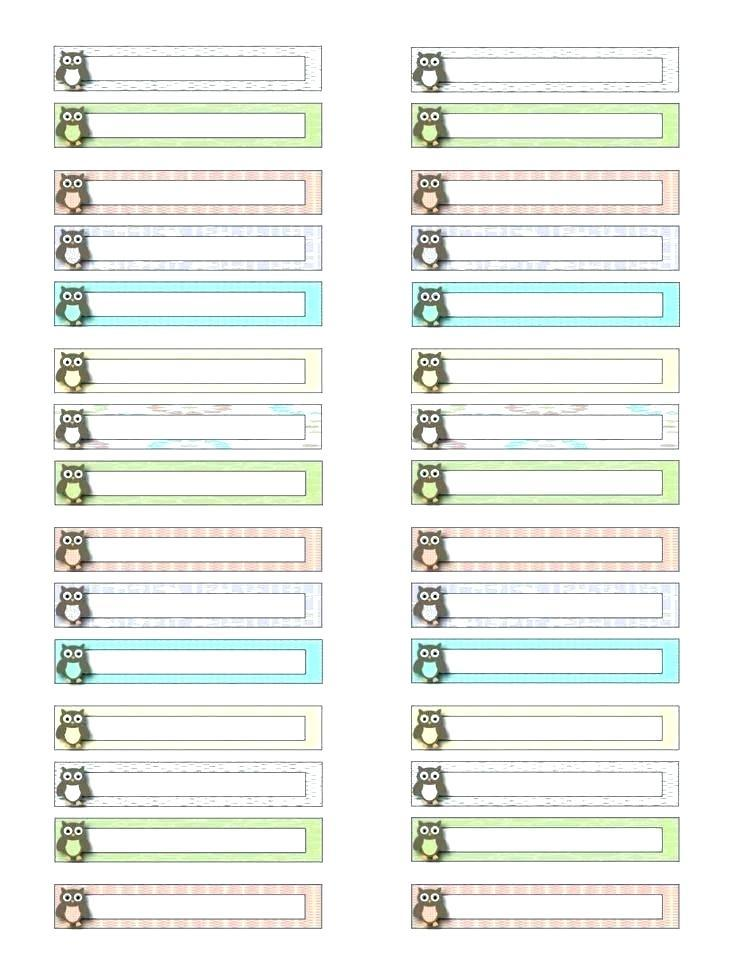 Free Hanging File Label Template